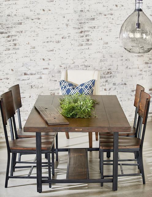 Well Known Magnolia Home Framework Dining Table With Planter – Industrial For Magnolia Home Shop Floor Dining Tables With Iron Trestle (View 20 of 20)