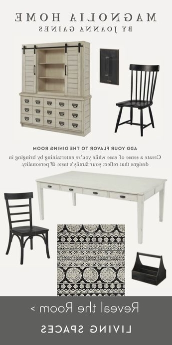 Well Known Magnolia Home Workshop Dresserjoanna Gaines With Magnolia Home Harper Chimney Side Chairs (View 19 of 20)