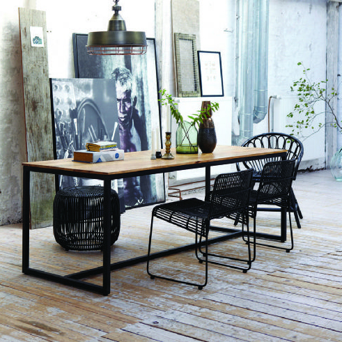 Well Known Mango Wood/iron Dining Tables For Mango Wood Dining Table With Regard To The House – Puretravelnw (View 17 of 20)