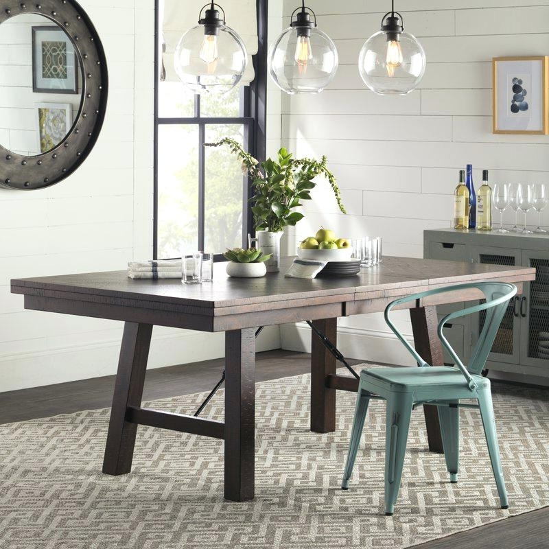 Well Known Material Dining Room Chairs Chandler 7 Piece Extension Dining Set W Pertaining To Chandler 7 Piece Extension Dining Sets With Fabric Side Chairs (View 20 of 20)