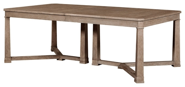 Well Known Michelle Modern Classic Maple Rectangular Extension Dining Table Throughout Caden Rectangle Dining Tables (View 19 of 20)