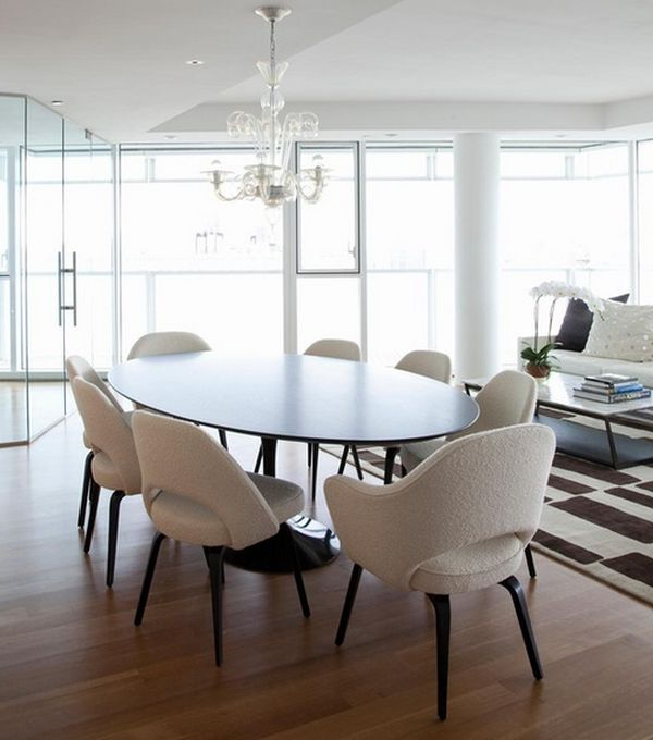 Well Known Modern Dining Table And Chairs With Regard To How To Choose The Right Dining Room Chairs Dining Chairs With Wheels (View 18 of 20)