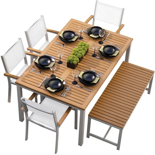 Well Known Modern Outdoor Dining Sets (View 11 of 18)