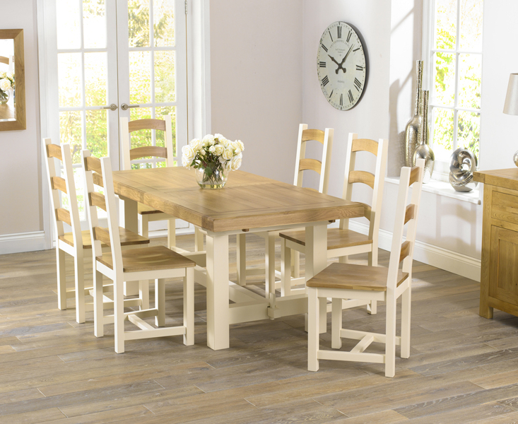 Well Known Modern Upholstered Dining Chairs For Sale – Elites Home Decor Within Cream And Wood Dining Tables (View 6 of 20)