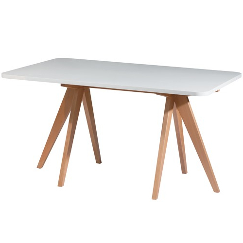 Well Known Nora Dining Tables Within Nora Beech Wood 160Cm Dining Table (View 19 of 20)
