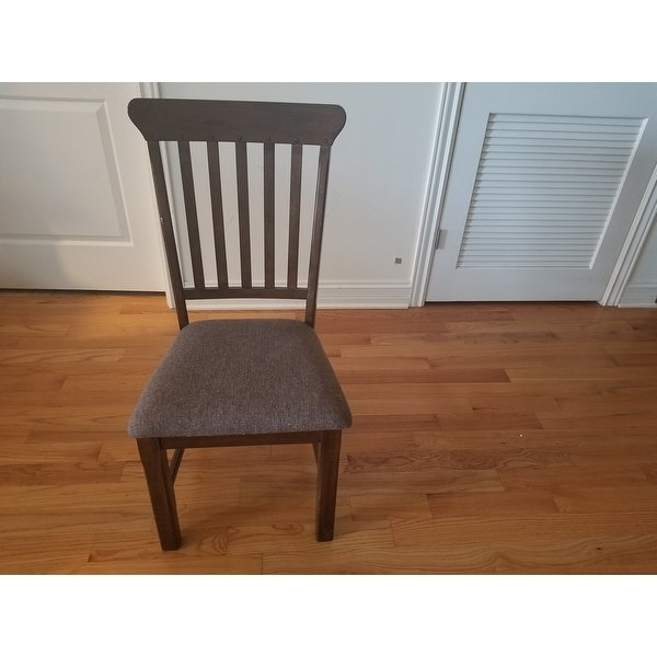 Well Known Norwood Upholstered Hostess Chairs Inside Shop Norwood Rustic Dining Chair (set Of 2) – Free Shipping Today (View 3 of 20)