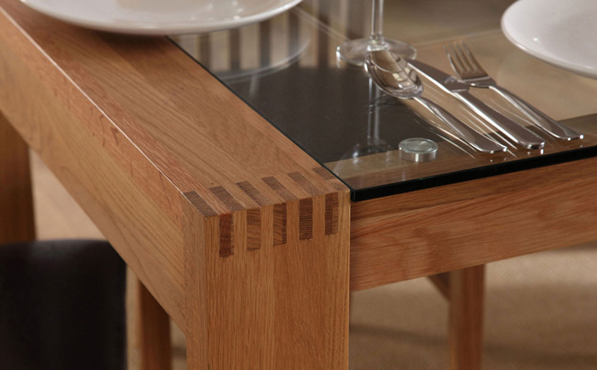Well Known Oak And Glass Dining Tables Sets In Oak Dining Room Tables For Sale – Www.cheekybeaglestudios (Gallery 12 of 20)