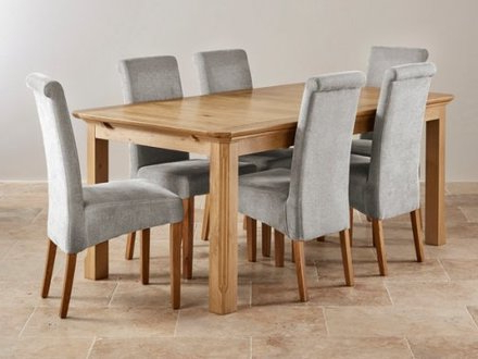 Well Known Oak Furniture Dining Sets Within 5Ft Dining Table Sets Oak Furniture Land, Dining Table Set Oak (Gallery 16 of 20)