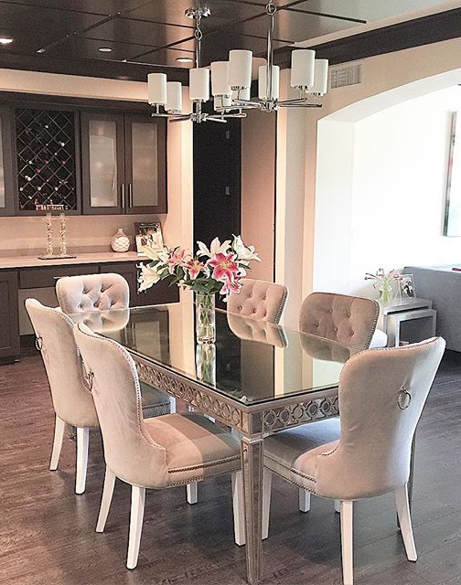 Well Known Our Sophie Mirrored Dining Table Elegantly Reflects Its Surroundings With Mirrored Dining Tables (View 19 of 20)