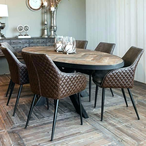Well Known Oval Dining Room Sets – Modern Computer Desk Cosmeticdentist In Parquet 6 Piece Dining Sets (View 16 of 20)
