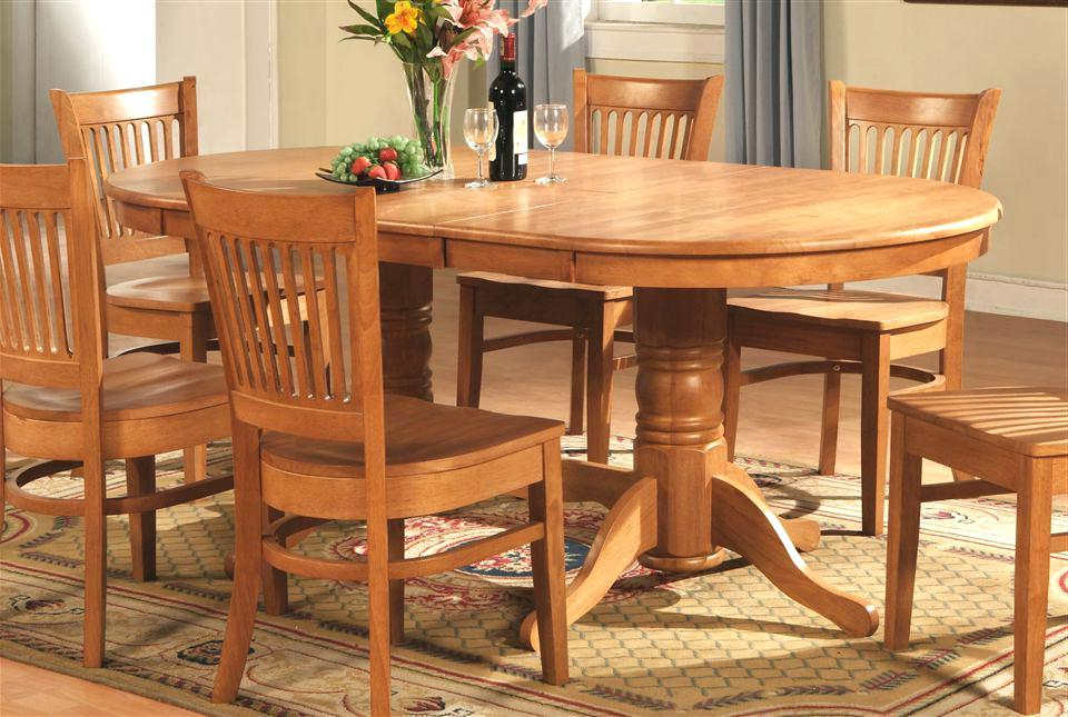 Well Known Oval Oak Dining Tables And Chairs Within Oval Oak Dining Table Oval Oak Table Us Oval Oak Dining Table And  (View 20 of 20)