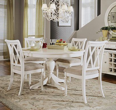 Well Known Palazzo 6 Piece Rectangle Dining Sets With Joss Side Chairs Within White Round Table With Chairs Check More At Http://casahoma (View 14 of 20)