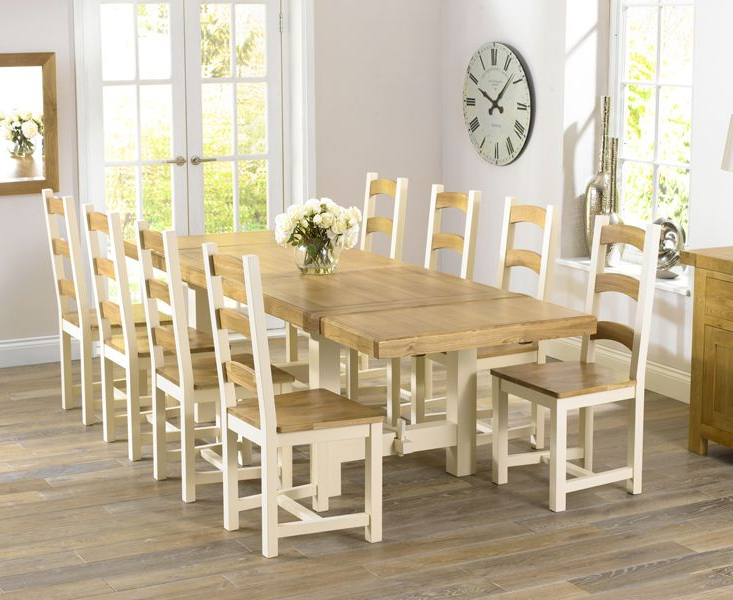 Well Known Photos: Cream Wood Dining Chairs, – Furniture Home Decor Throughout Cream And Wood Dining Tables (View 12 of 20)