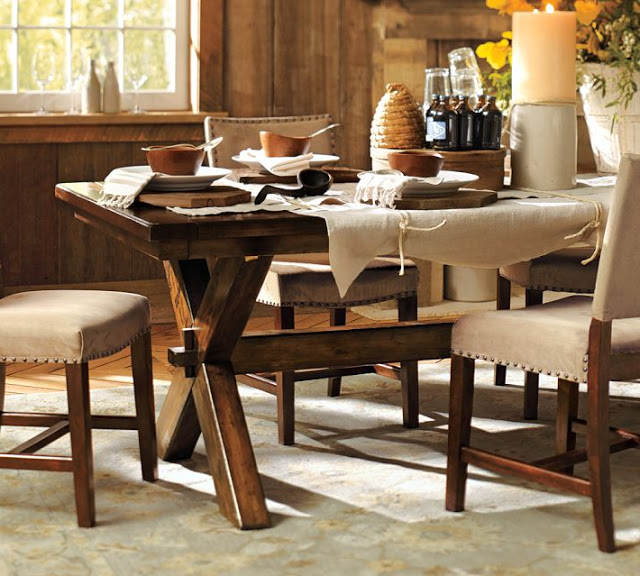 Well Known Pottery Barn Toscana Dining Table – Copycatchic Intended For Toscana Dining Tables (View 4 of 20)
