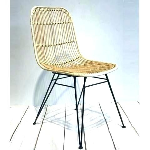 Well Known Rattan Side Chair – Dgsports (View 5 of 20)