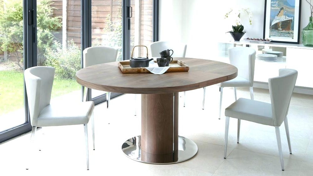 Well Known Round Extending Dining Table Sets Circular Extending Dining Table Inside Circular Extending Dining Tables And Chairs (View 5 of 20)