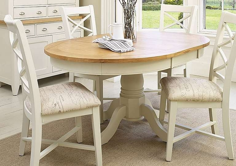 Well Known Round Extending Dining Table Sets Circular Extending Dining Table Pertaining To Circular Extending Dining Tables And Chairs (View 8 of 20)