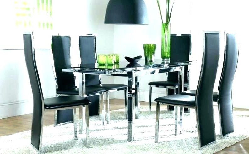 Well Known Round Glass Dining Table For 6 – Carpentry Solutions Within Glass Dining Tables 6 Chairs (View 11 of 20)