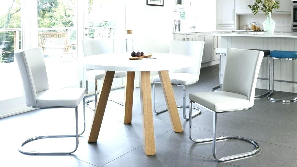 Well Known Round High Gloss Dining Tables Pertaining To Dining Table White Gloss High Gloss Dining Table White Kitchen Table (View 18 of 20)