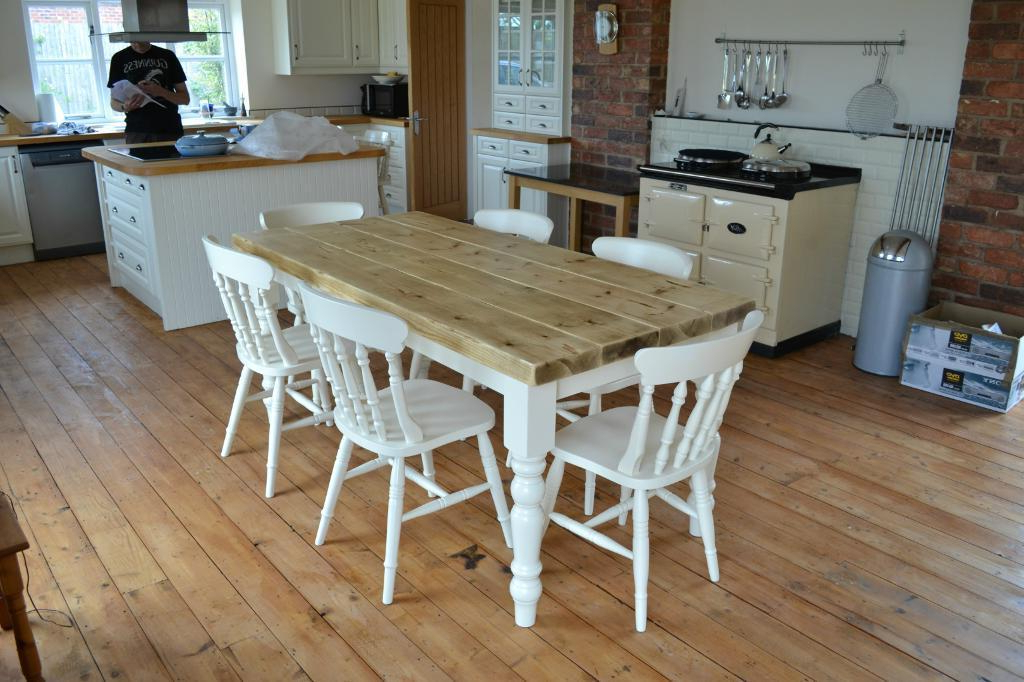 Well Known Shabby Dining Tables And Chairs With Regard To Shabby Chic Dining Tables Ring Pull Dining Chair (View 18 of 20)
