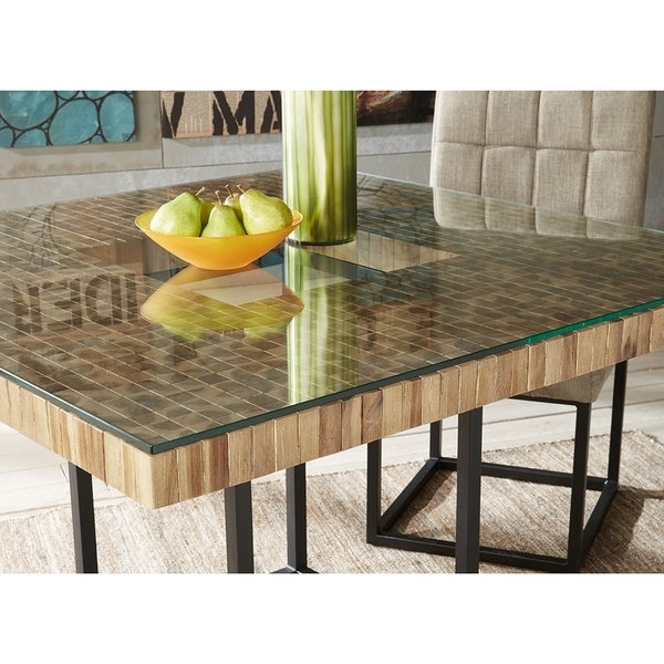 Well Known Shop Ink+ivy Benson Bundle Natural/black Dining Table – Free Intended For Benson Rectangle Dining Tables (View 11 of 20)