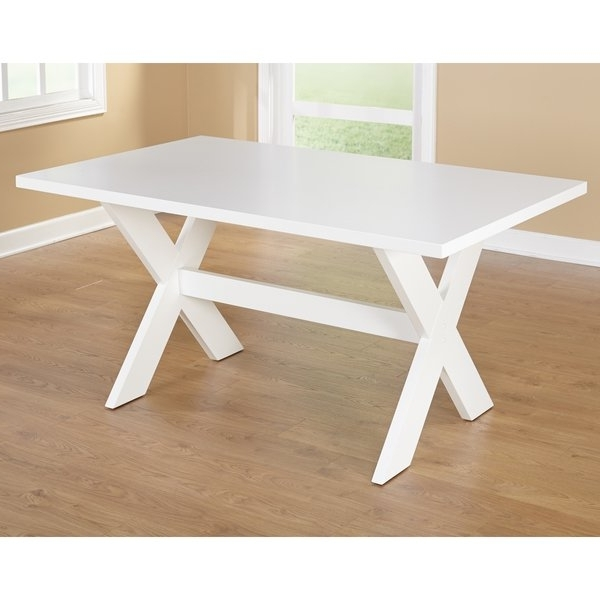 """Well Known Shop Simple Living Sumner Dining Table – 29.75""""h X 35.5""""w X (View 19 of 20)"""