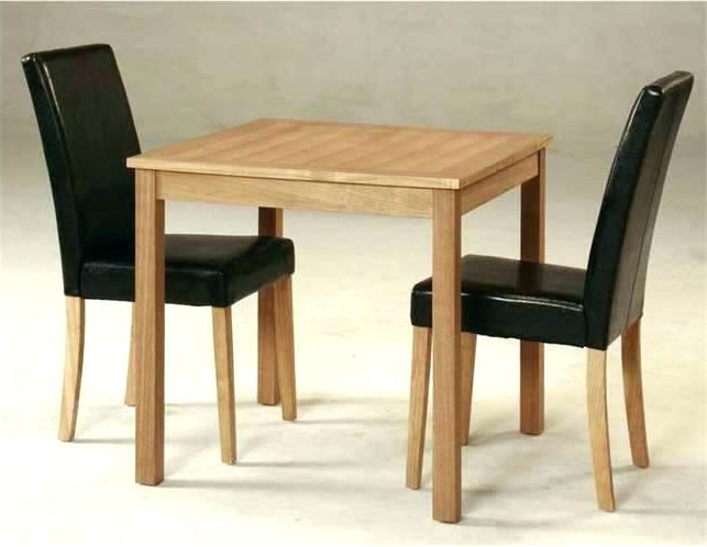 Well Known Small Dining Tables For 2 With Dining Table Sets For 2 2 Chair Table Set 3 Piece Set Square Dining (View 20 of 20)