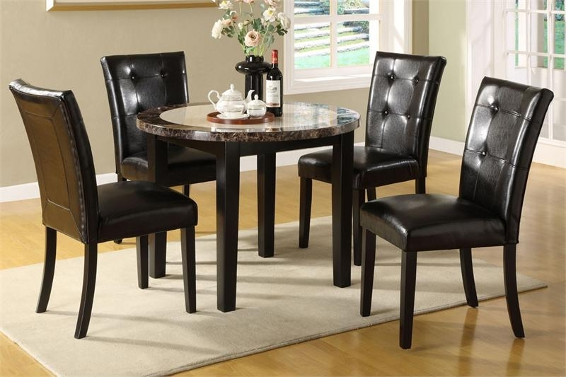 Well Known Small Round Dining Room Set – Best House Interior Today • With Caira Black Round Dining Tables (View 13 of 20)