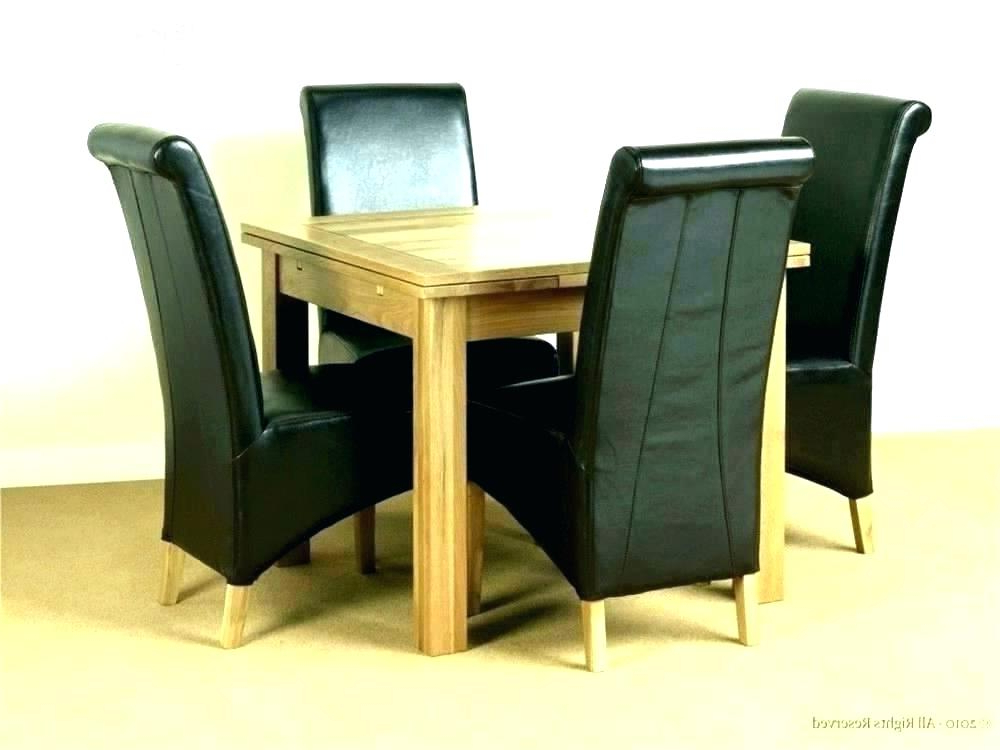 Well Known Small Round Extendable Dining Table And Chairs 4 Sets Expandable For Extendable Dining Table And 4 Chairs (View 19 of 20)