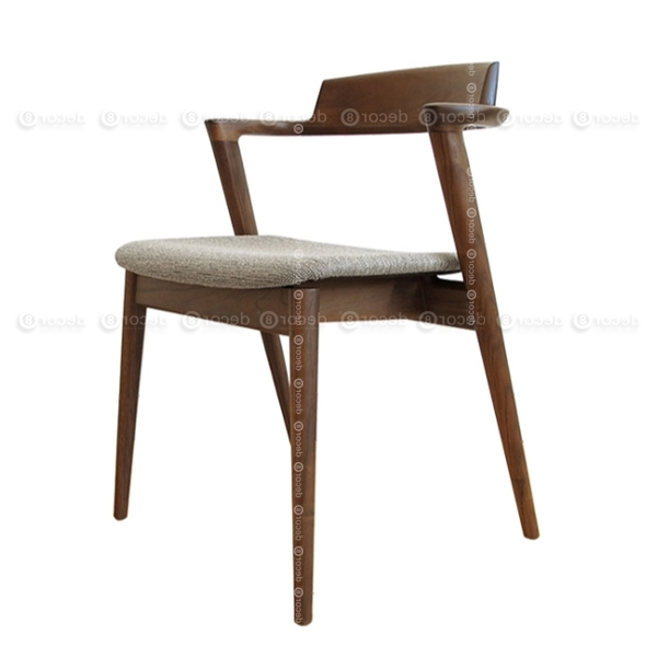 Well Known Solid Wood Dining Chair Hong Kong – Walnut Chair, Designer Chair With Regard To Carmel Oak Side Chairs (View 18 of 20)