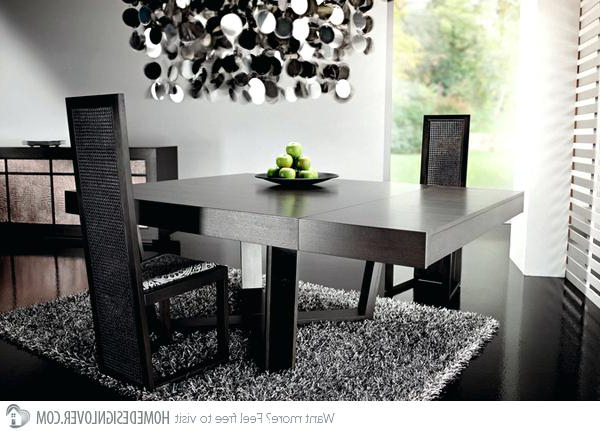 Well Known Square Dining Room Tables Large Square Dark Wood Dining Table Legs 6 With Regard To Dark Wood Square Dining Tables (View 17 of 20)