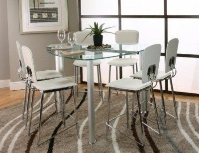 Well Known Unique Counter Height Dining Sets – Foter With Regard To Kirsten 6 Piece Dining Sets (View 10 of 20)