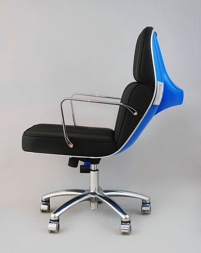Well Known Vespa Side Chairs With Old Vespas Turned Into Modern Office Chairs (View 15 of 20)