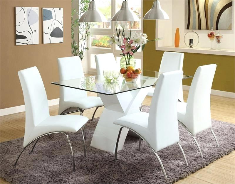 Well Known White Dining Table Set – Theturkishpassport Within White Dining Sets (View 18 of 20)