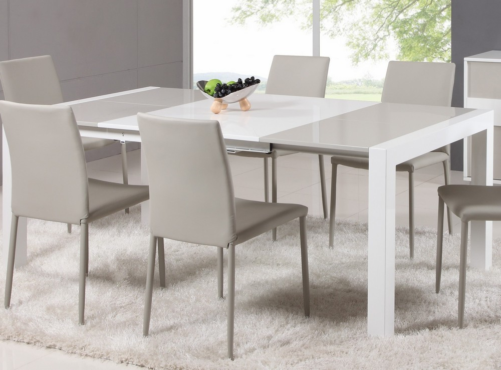Well Known White Expandable Dining Table — Home Design Ideas : Make An Inside White Square Extending Dining Tables (View 16 of 20)