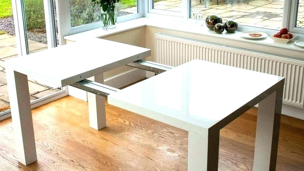 Well Known White Extendable Dining Tables And Chairs Regarding White Extending Dining Table Extending White Dining Table Extendable (View 12 of 20)
