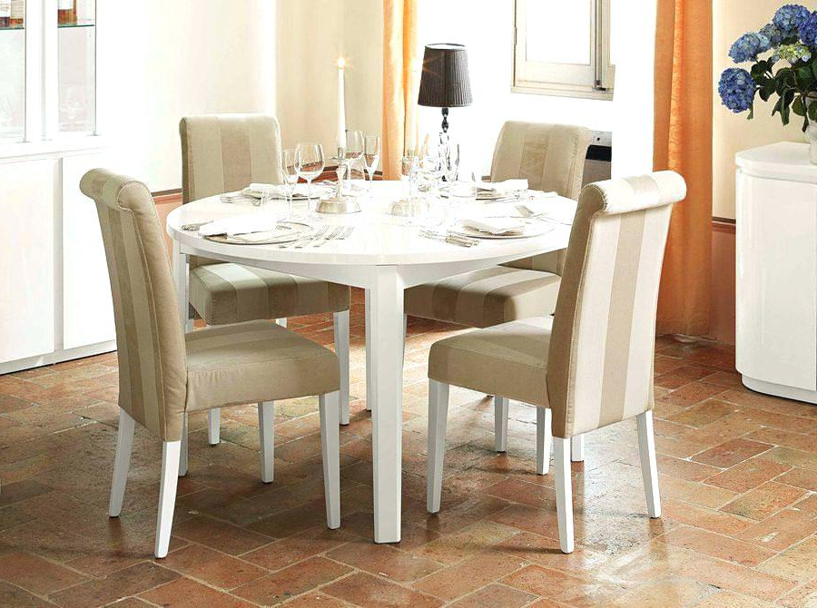 Well Known White Round Extendable Dining Table Furniture Expandable New Tables With White Round Extendable Dining Tables (View 14 of 20)