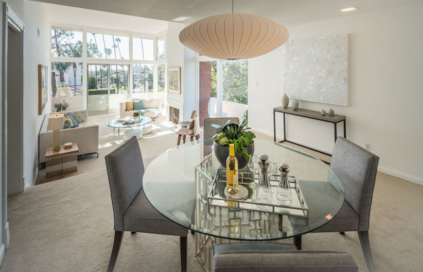 Well Liked 10 Marvelous Dining Room Staging Ideas (photos) Throughout Jaxon 6 Piece Rectangle Dining Sets With Bench & Uph Chairs (View 20 of 20)