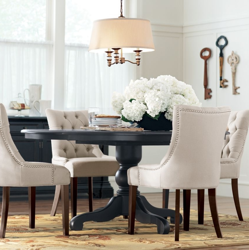 Well Liked 33+ Black And White Dining Room Ideas Make Wish To Go Monochrome Inside Mandy Paper White Side Chairs (View 3 of 20)