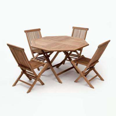 Well Liked 4 5 Person – Dining Chair – Teak – Patio Dining Furniture – Patio Intended For Outdoor Brasilia Teak High Dining Tables (View 20 of 20)