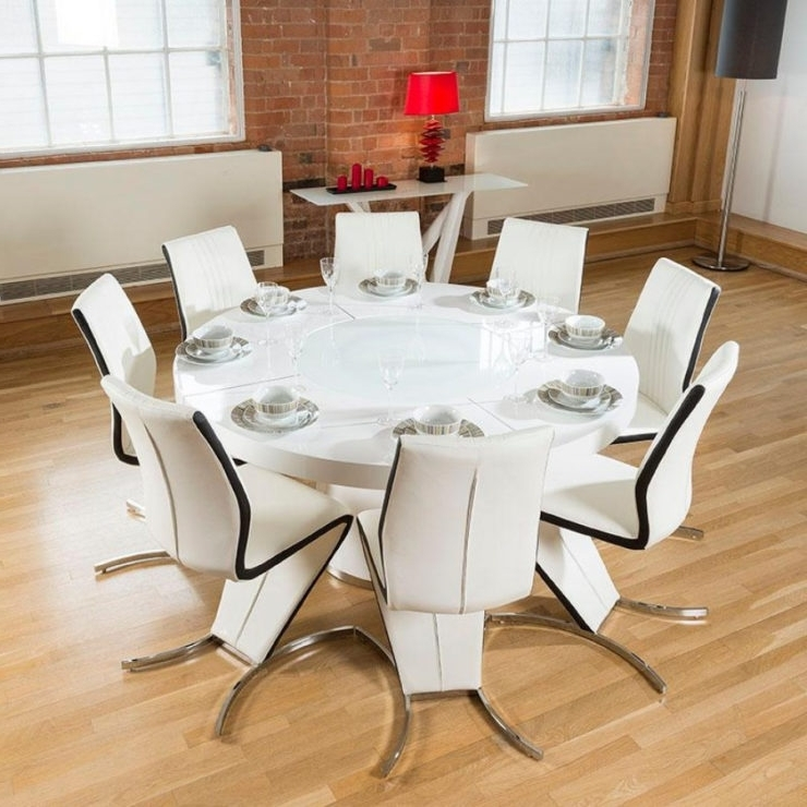 Well Liked 6 Seat Round Dining Tables For House & Home Design (View 14 of 20)