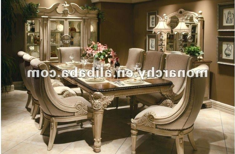 Well Liked 8 Seat Dining Tables Throughout 8 Seater Dining Table White Gloss Tablecloth Size Round Rattan La (View 15 of 20)