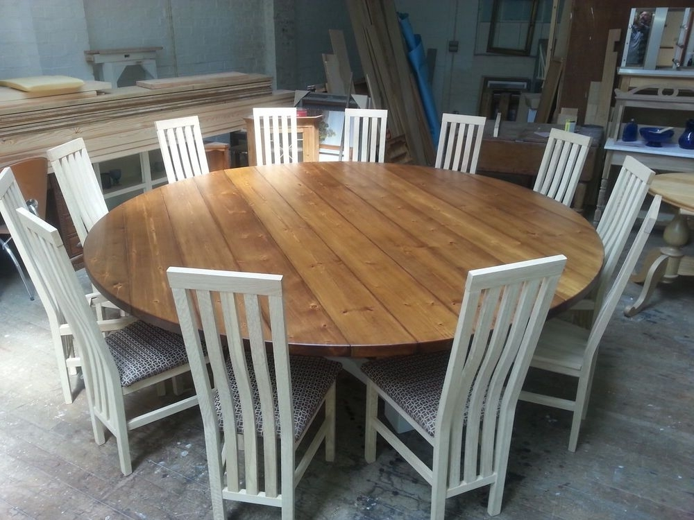 Well Liked 8 Seater Round Dining Table And Chairs For Image Result For Expandable Round Restaurant Outdoor Tables (View 9 of 20)
