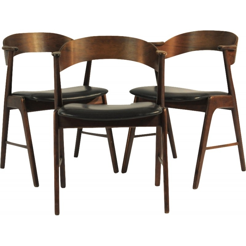 Well Liked Amos Side Chairs Within Set Of 6 Kai Kristiansen Model 32 Dining Chairs – 1960s – Design Market (View 15 of 20)