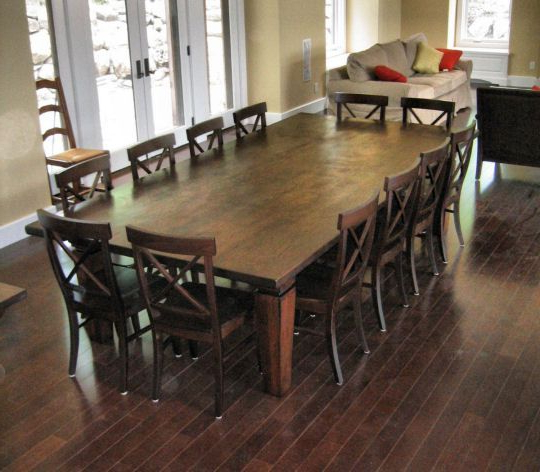 Well Liked Best 12 Seater Square Dining Table 12 Seat Dining Room Table We With Regard To Farm Dining Tables (View 8 of 20)
