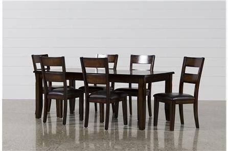 Well Liked Bradford 7 Piece Dining Sets With Bardstown Side Chairs Regarding Bradford 7 Piece Dining Set W/bardstown Side Chairs (View 20 of 20)