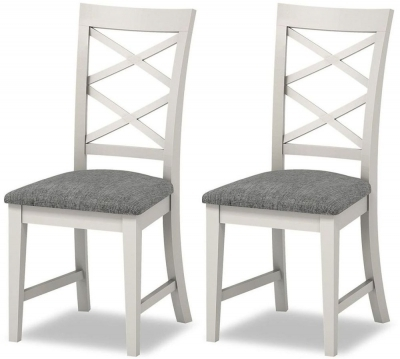 Well Liked Buy Global Home Chester Painted Cross Back Dining Chair (pair For Chester Dining Chairs (View 13 of 20)