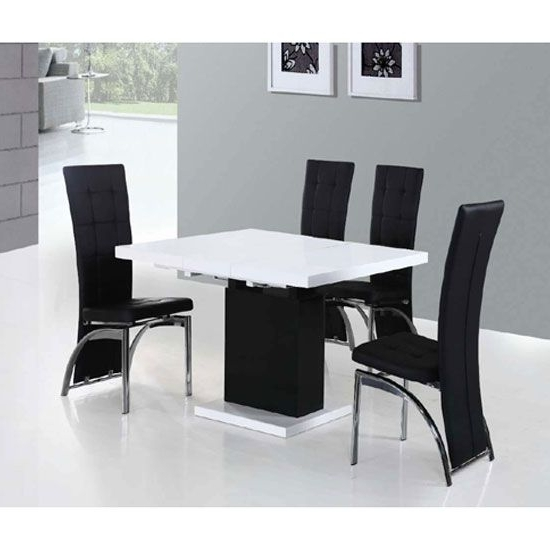 Well Liked Buy Small Extendable Dining Table With Black Extendable Dining Tables And Chairs (View 12 of 20)