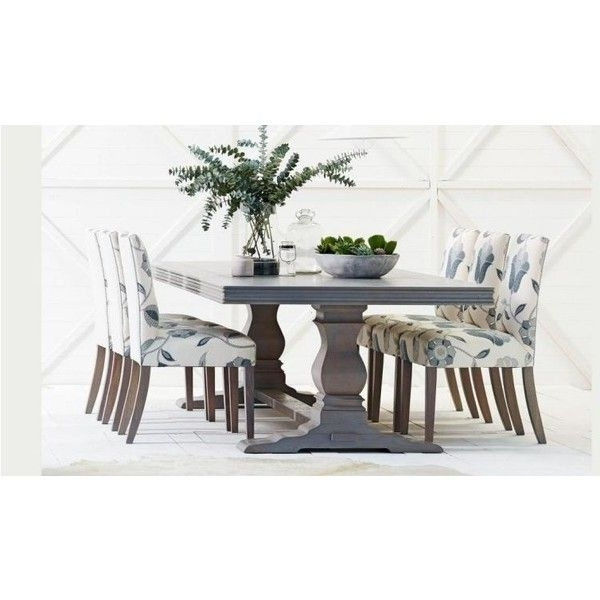 Well Liked Cambridge Dining Tables Intended For Cambridge Herringbone Dining Table ❤ Liked On Polyvore Featuring (View 20 of 20)