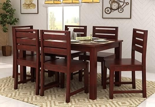 Well Liked Chair Dining Tables Througho Six Chair Dining Table Set New Dining Within Dining Tables For Six (View 19 of 20)
